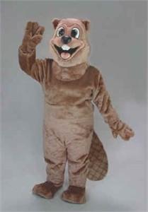 """Blaise Beaver"" Mascot Costume"