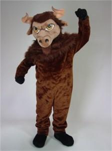 Bison Mascot Costume