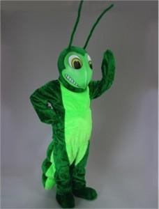 Grasshopper Mascot Costume