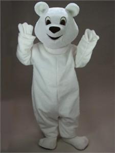 """Snowball"" Polar Bear Mascot Costume"