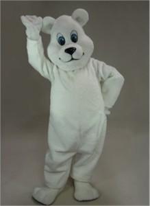 """Breezy"" Polar Bear Mascot Costume"