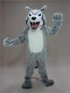 Fierce Husky Mascot Costume
