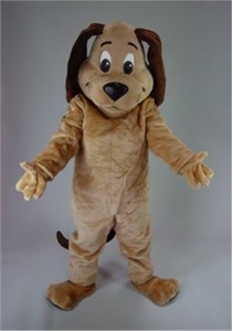Cartoon Dog Mascot Costume