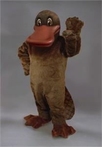 Platypus Mascot Costume