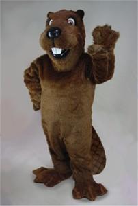 """Barney Beaver"" Mascot Costume"