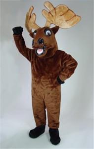 Mr. Moose Mascot Costume