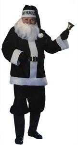 Men's Black Bah Humbug Santa Suit