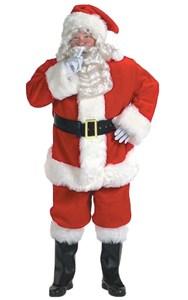 Men's Plus Size Santa Suit Rich Velvet