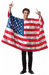 Mens USA Flag Costume
