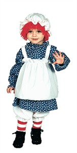 Toddler Raggedy Ann Costume