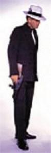 Adult Brown Ganster Costume Suit