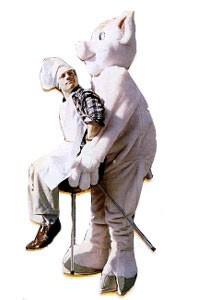 Adult Picnic Pig Illusion Costume