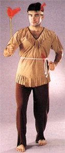 Adult Indian Man Costume