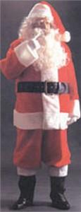 Adult Plush Santa Suit Costume