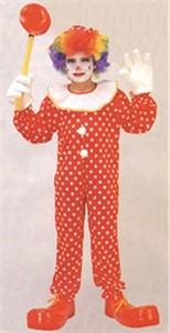 Child Deluxe Clown Costume