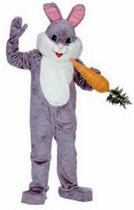 Adult Grey Premium Rabbit Costume