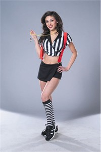 Adult Deluxe Sexy Referee Costume