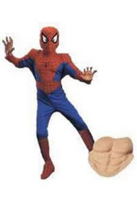 Child Deluxe Spiderman Costume