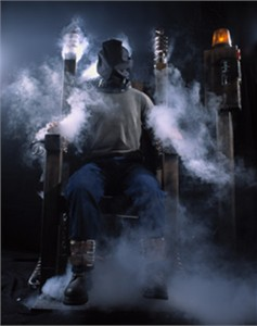 Shake n' Bake Electric Chair Haunted House Prop
