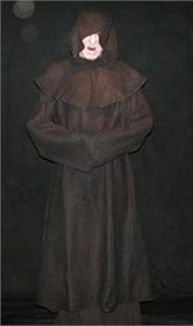 Monk Attack Animated Haunted House Prop
