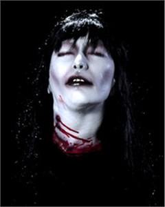 Vampire Bride Head Haunted House Prop