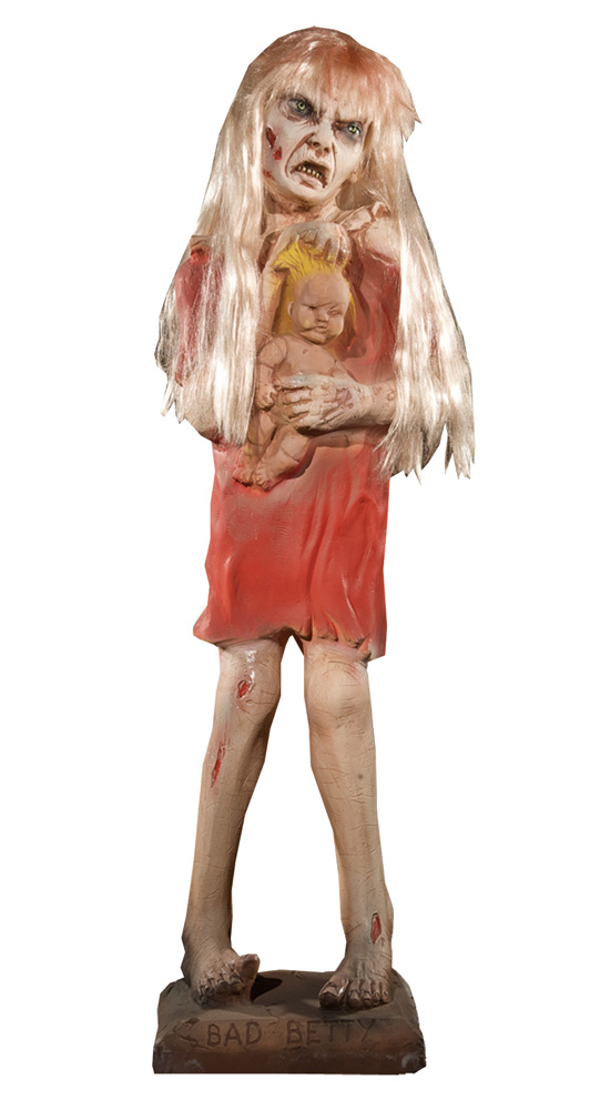 Zombie Bad Betty Haunted House Prop