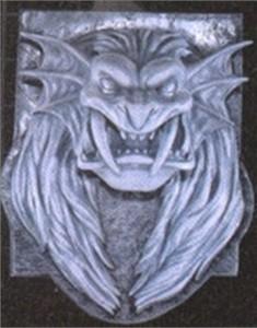 Lion Head Plaque Halloween Prop