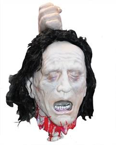 Fresh Severed Head Halloween Prop