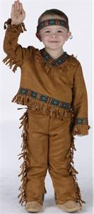 Toddler American Indian Boy Costume