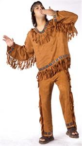 Plus Size Native American Man Costume