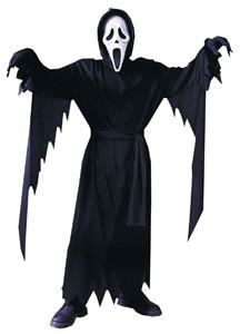 Child Ghost Face Scream Costume