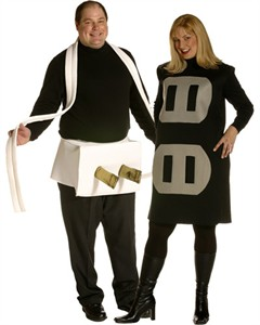 Plus Size Plug and Socket Couples Costume