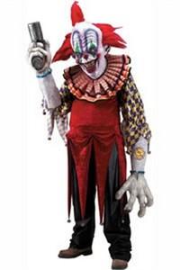 Adult Deluxe Evil Clown Costume