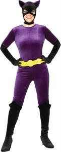 Adult Velvet Catwoman Costume