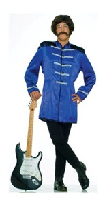 Adult Sergeant Peppers Beatles Costume - Blue