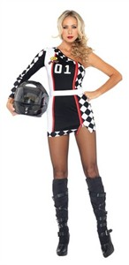 Sexy Racy Racer Costume
