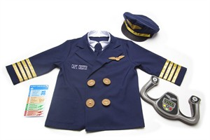Personalized Pilot Costume Set
