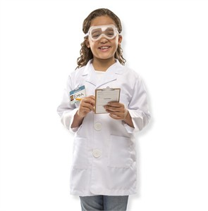 Personalized Scientist Costume Set