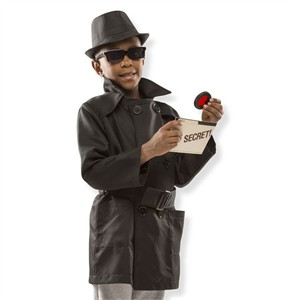 Personalized Spy Costume Set