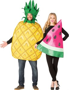 Pineapple & Watermelon Couples Costume