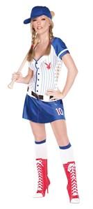 Playboy Baseball Costume