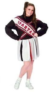 Plus Size Female Spartan Cheerleader