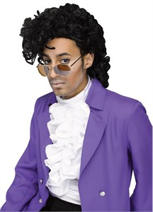 Purple Rain Wig