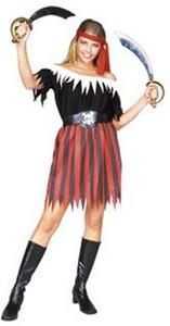 Adult Woman's Pirate Halloween Costume