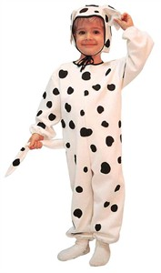 Toddler Dalmatian Costume w/ Hat