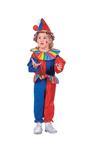 Jolly Clown Toddler Costume