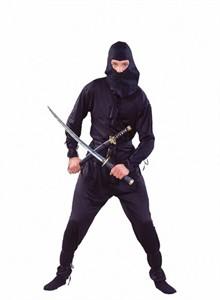 Adult Black Ninja Costume