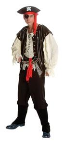 Adult Deluxe Classic Pirate Costume