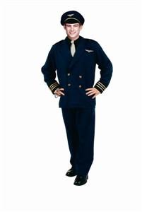 Adult Flight Captain Costume