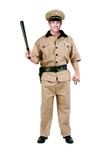 Adult Security Guard Costume